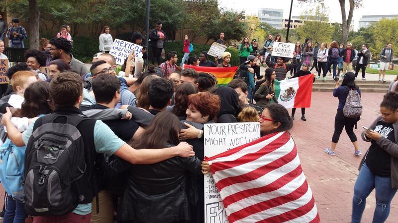 unt-peaceful-demonstration-november-2016