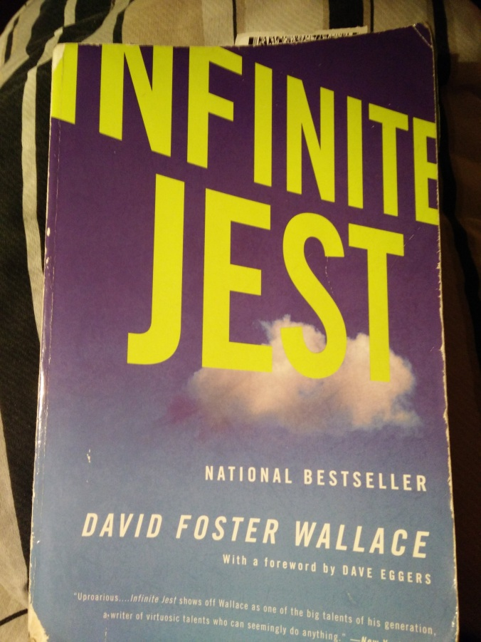 My Copy of Infinite Jest