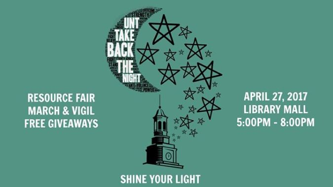 UNT Take Back the Night