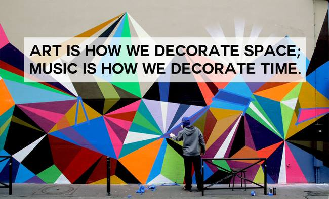 Music Decorates Time