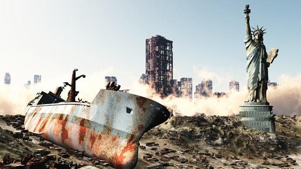 Post-apocalyptic Ship Wreck